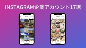Instagram企業アカウントの成功例!業種カテゴリー別に人気アカウントを17社紹介